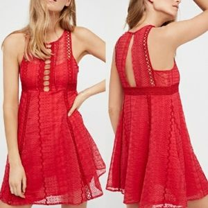 Wherever You Go Mini Dress by Free People